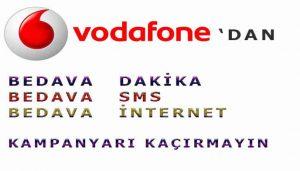 Vodafone Konuşma Paketleri